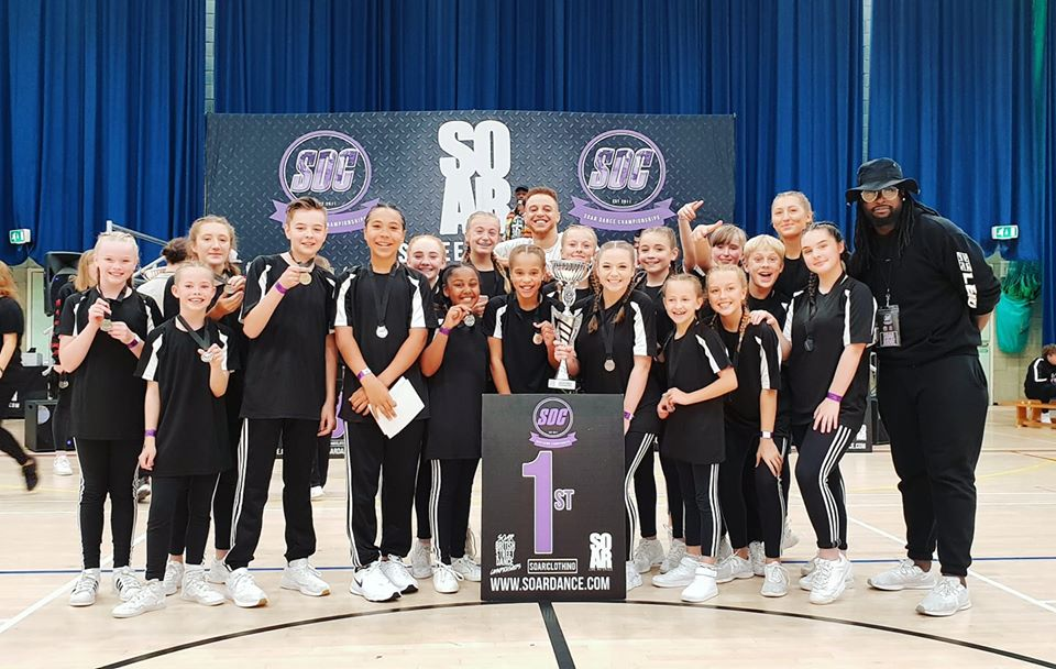The Division Street Dance Crew from Crawley and East Grinstead
